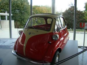 Historisches Kleinwagen Modell