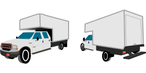 Transporter mit Pritschen Aufbau